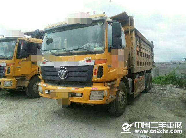 福田 欧曼  ETX 9系重卡 336马力 6X4 自卸车(BJ3258DLPJB-12)