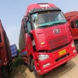 一汽解放 J6 载货车 350马力 8X4 前四后八  仓栅(变速箱12Js160)