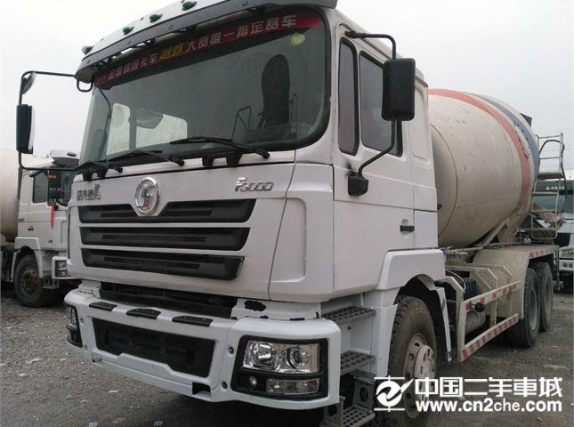 陕汽重卡 德龙搅拌车 13年12月出厂;陕汽德龙F3000,大12方,后八轮搅拌罐车,手续齐全,车况