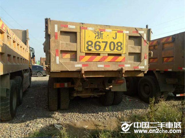 福田 欧曼 14年二手欧曼自卸车 6米大箱