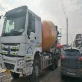 中国重汽 搅拌运输车 15年豪沃,14方罐,手续全 可提档过户