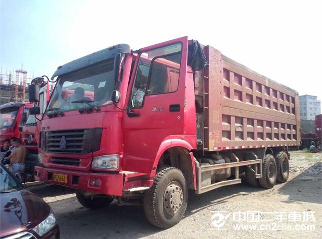 中国重汽 豪沃 自卸车 336马力 8X2 前二后八