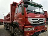 中国重汽 金王子 二手自卸车前四后八重汽金王子国四310马力德国曼发动机,十档高低速,厢长6.8米,高1.2米,自重13吨,