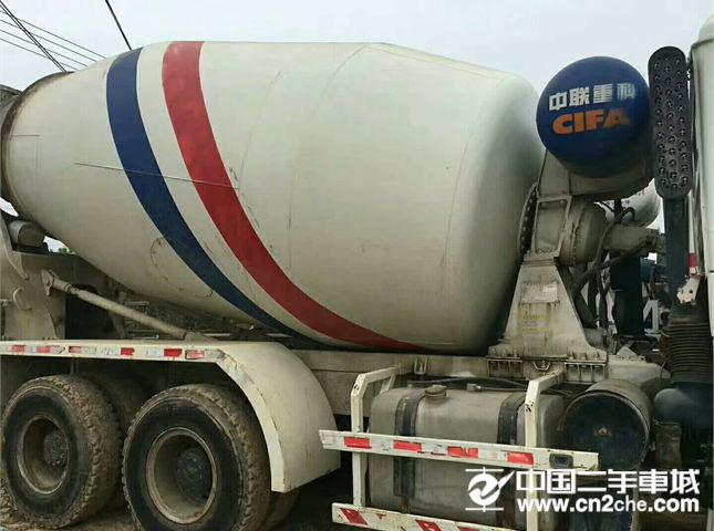 陕汽重卡 德龙搅拌车 出售12年4月陕汽德龙搅拌罐车,14方,潍柴发动机