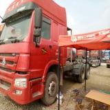 中国重汽 豪沃 出售2013年8月中国重汽 国三豪沃 燃气轻体 双驱 360马力 可过户提档  手续齐全