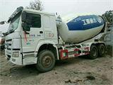 中国重汽 豪沃 14年11月国四,豪沃后八轮搅拌罐车,14方罐,可分期付款;