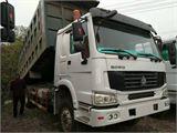 中国重汽 豪沃 二手自卸车前二后八豪沃375马力,厢长6.8米,栏板...