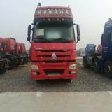 中国重汽 豪沃 出售14年1月中国重汽豪沃牵引车,双驱重体,375马力