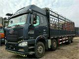 一汽解放 J6 载货车 J6P 350马力8×4厢式载货车(标载型)