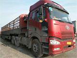一汽解放 J6 二手二拖三半挂车解放j6国四420马力,14.6米高栏高低板,