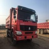 中国重汽 豪沃 出售二手豪沃自卸车,5.8米大箱,国三