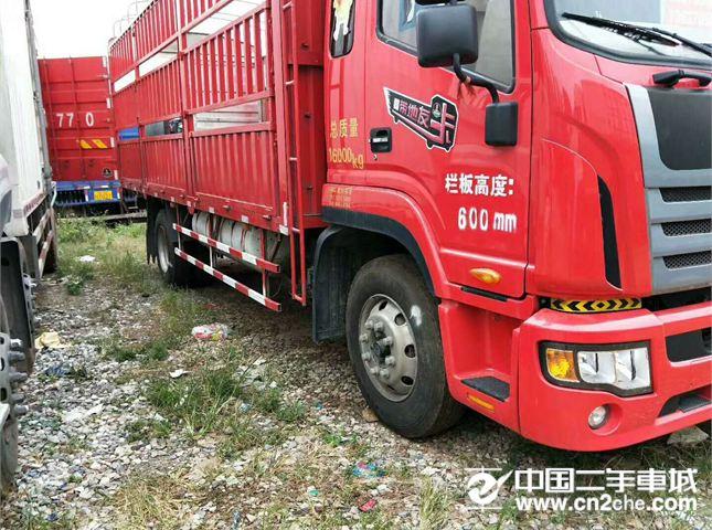 二手载货车江淮货车江淮格尔发L系列重卡180马力4X2前二后四价格7.60万