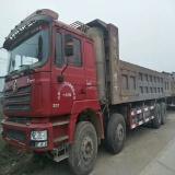 陕汽重卡 德龙F3000 出售陕汽德龙F3000燃气自卸车,8.3米大箱,13年11月