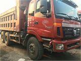 福田 欧曼 13年二手欧曼后八轮自卸车,5米6大箱,16吨奔驰桥,