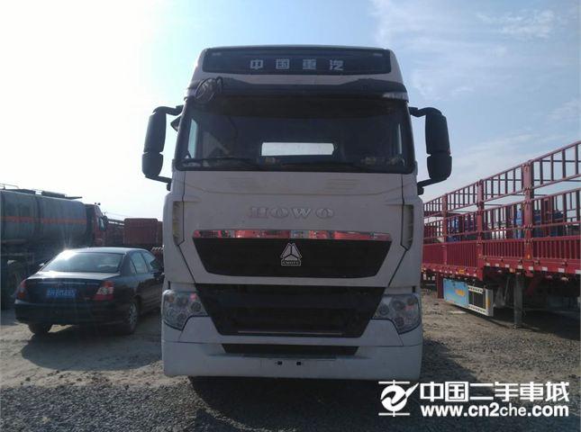 中国重汽 豪沃 二手货车,17年1月,豪沃T7,国五 440马力,双驱,轻体