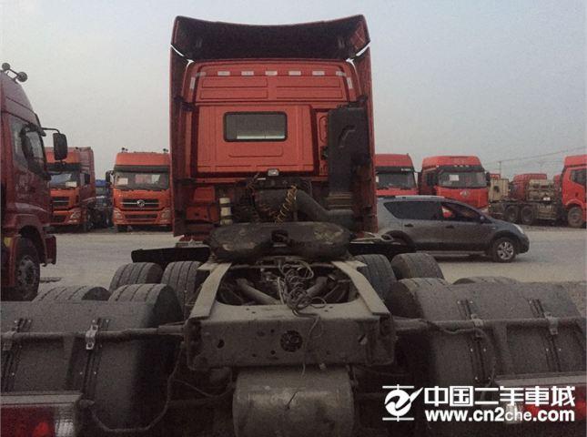 福田 欧曼 出售二手牵引车,15年1月,国四,430马力,双驱轻体,