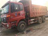 福田 欧曼 13年12月欧曼后八轮自卸车马力340、16吨奔驰桥、12档