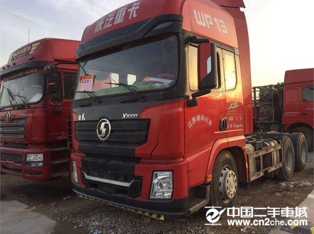 陕汽重卡 德龙X3000 出售二手牵引车,德龙X3000,16年10月国五480马力,