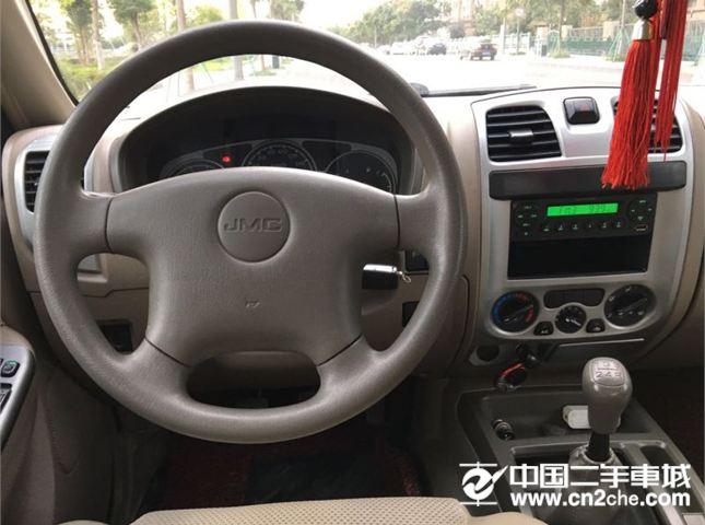 江铃 宝典 江铃宝典2.8T柴油加长版精品车 墨绿色