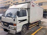 江铃 顺达 江铃顺达4.2米厢式货车 白