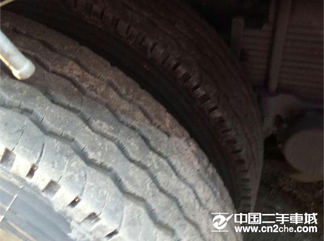 福田 欧曼 二手高栏半挂车,二手欧曼12年6月份9.6米半挂车290马力