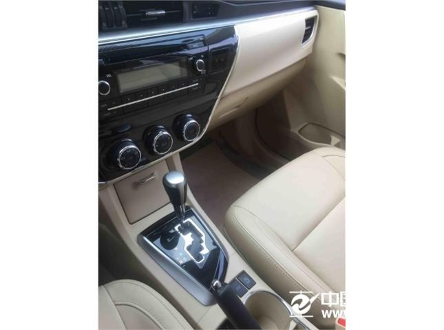 丰田 卡罗拉 2014款 1.6L GL MT