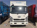 解放 J6F 0.495吨解放4.2米厢式 白