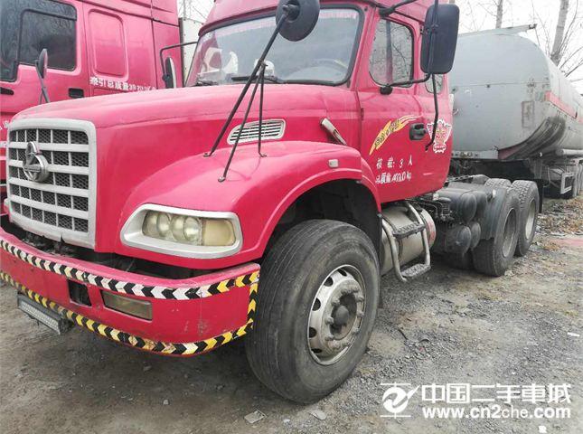 东风大力神急售12年二手龙卡国三340马力双钱轮胎双驱重体价格4.80万