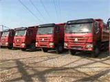 中国重汽 豪沃 库存豪沃自卸车,5米8,375马力,无手续,有合格证发票