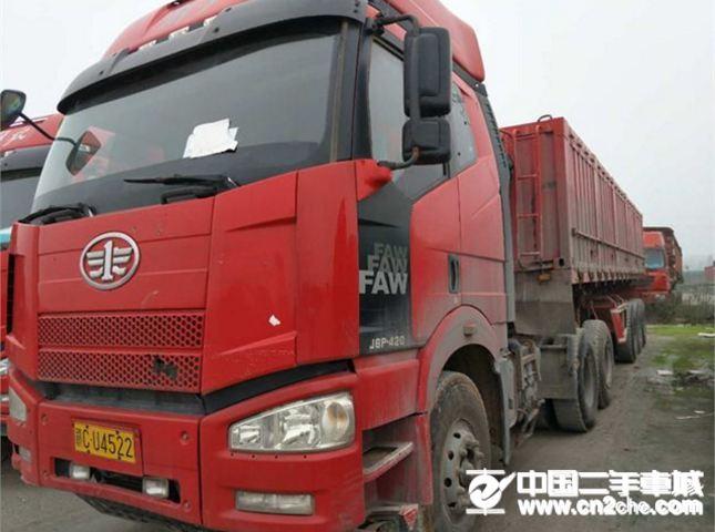 一汽解放 J6 载货车 420马力 6X4   (国IV)