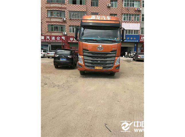 东风柳汽 乘龙 载货车 H7重卡 350马力 8X4 9.6米排半?#32456;?#24335;