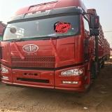 一汽解放 J6P 载货车  350马力8×4厢式载货车(标载型...