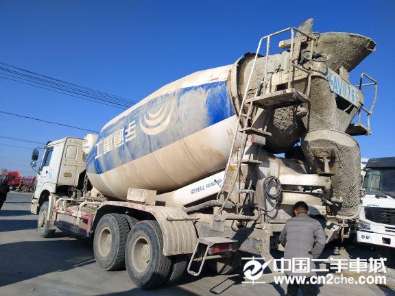 中国重汽 豪沃 375马力  双仓...