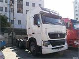 中国重汽 豪沃T7 牵引车 重卡 430马力 6X4 LNG 牵引车