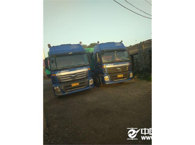 福田 欧曼 牵引车 ETX 6系重卡 380马力 6X4 LNG牵引车(BJ4253SNFCB-AC)
