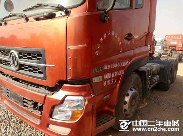 东风天龙12年6月车国三双驱轻体价格不高车况原版价格9.00万
