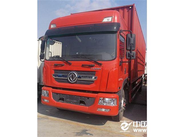 东风股份多利卡8.9吨东风G9厢式9.8米红色价格18.00万