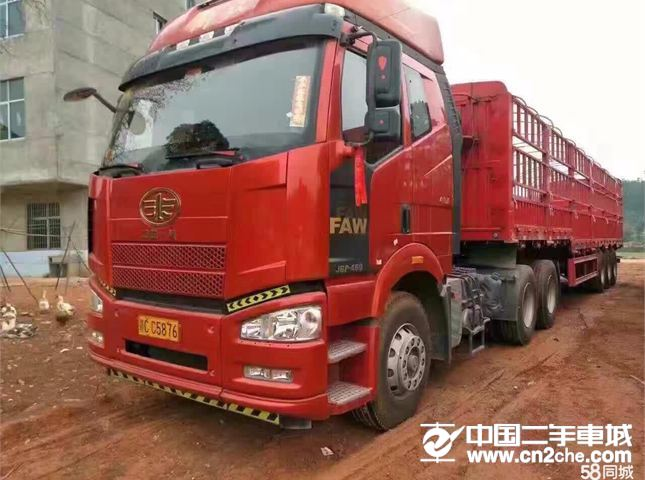 一汽解放 J6 牽引車 重卡 460馬力 6X4