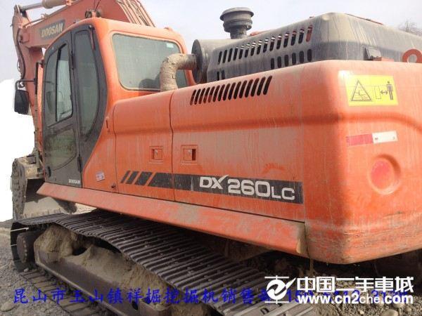 斗山斗山挖掘机DX260价格50.00万