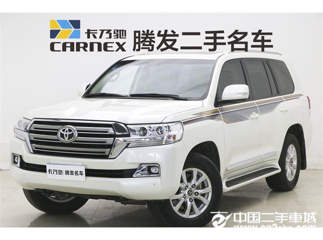 丰田2017款二手丰田丰田兰德酷路泽(进口)4.0L中东限量版价格69.90万