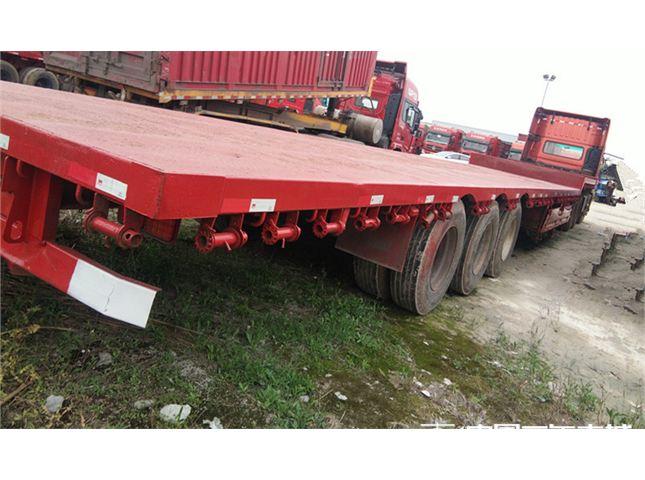 东风 天龙 重卡420马力6X4平板