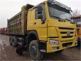 中国重汽 豪沃 国三豪沃后八轮自卸车,无户5.8米车厢...