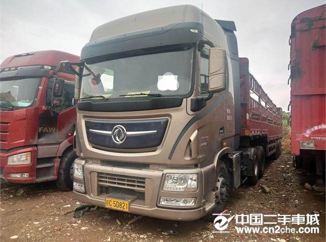 東風 天龍 牽引車 旗艦重卡 520馬力 6X4牽引車(采埃孚16檔)