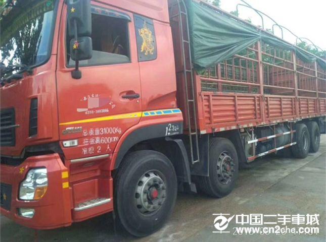 東風 天龍 385馬力前四后八載貨車