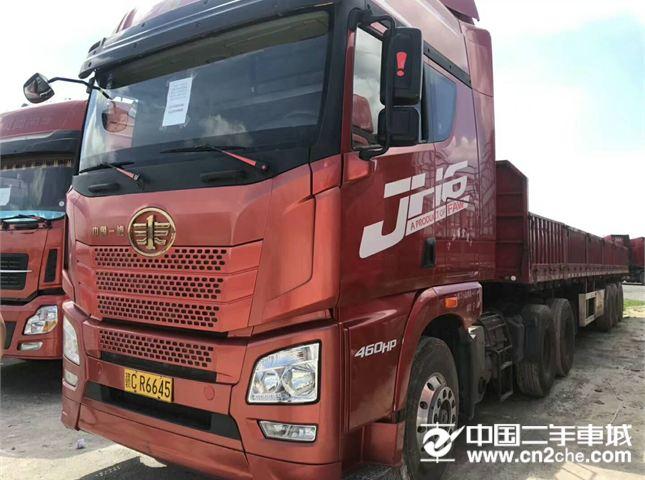 二手牵引车解放青岛(解放)重卡460马力6X4牵引车(CA4250P25K2T1E4)价格33.00万