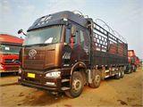 一汽解放 J6P 载货车  350马力8×4厢式载货车(标载型)