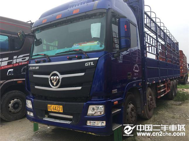 福田 欧曼 自卸车 GTL-9系 运输型 8*4 前四后八-2 3年二手货车报价 二