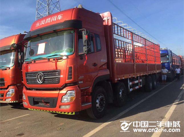 東風 天龍 350馬力前四后八載貨車