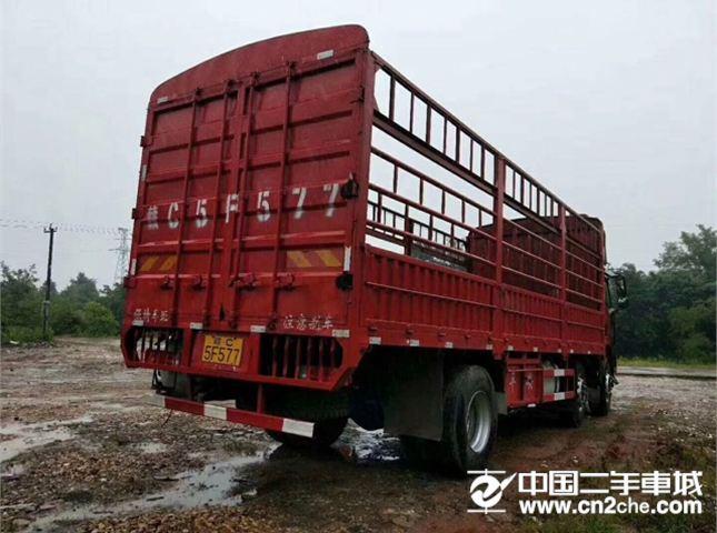 一汽解放 小解放 245马力,国五,7.8米仓栏,前四后四货车