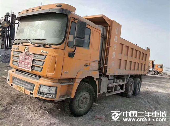 陕汽重卡德龙F3000375马力后八轮自卸车价格27.88万